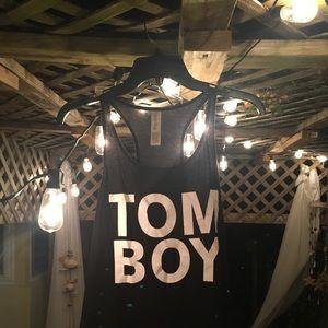 Tom boy top